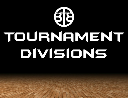 Bless'd To Ball Basketball Tournament Divisions