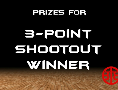 3-Point Shootout Winner PRIZES
